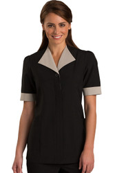 Black Housekeeping Tunic
