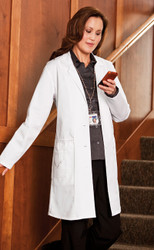 Ladies Emrboiderd Lab Coat
