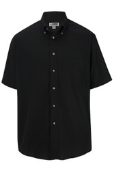 Men's Easy-Care Short Sleeve Poplin Shirt