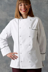 "Women's ""Lia"" Chef Coat"