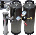 Kegging Pack with Single Tap Tower - One handle