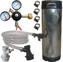 Kegging party kit, the minimum needed to set your up kegging home brew beer.