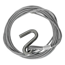 Winch Cable 7.5m S Hook