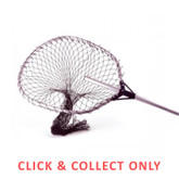 Landing Net Retractable 120cm Heavy Duty - CLICK & COLLECT ONLY