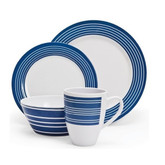 Melamine 16 Piece Dinner Set