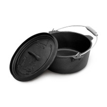 Camp Oven Cast Iron 12 Quart