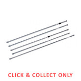 Slide Rail with Tee Nut Fitting 2.5m - CLICK & COLLECT ONLY