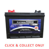 Battery Marine Platinum Power N52H-MF Dual Terminal - CLICK & COLLECT ONLY