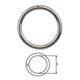 Ring Round Stainless Steel 8x50mm