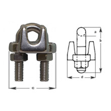 Wire Grips Stainless Steel 6mm 2PCS