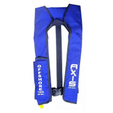 Life Jacket Inflatable Offshore Level L150 Manual Blue Axis