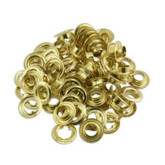 Brass Eyelet Set No. 4 20PCS