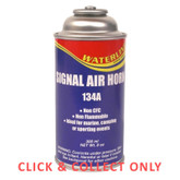 Emergency Signal Air Horn Replacement Gas Cylinder - CLICK & COLLECT ONLY
