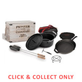 Cast Iron Pioneer Flinders 9 Piece Set - CLICK & COLLECT ONLY