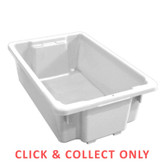32L Stacking Nally Crate Natural - CLICK & COLLECT ONLY