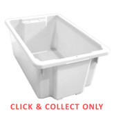 52L Stacking Nally Crate Natural - CLICK & COLLECT ONLY