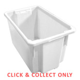 68L Stacking Nally Crate Natural - CLICK & COLLECT ONLY