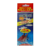 Whiting Smacker Bloodworm Rig