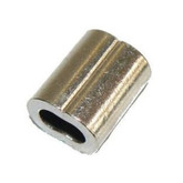 Swage 1/8inch Nickel Plated Copper 2PCS