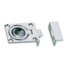 Catch Flush Ring Chrome Plated