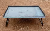 BBQ Plate 6mm with Legs 60x40cm