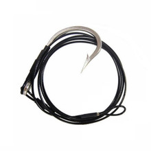 HookEm Shark Rig 12/0 Hook with 300lb Wire Trace