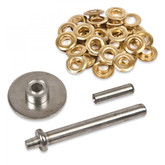 Brass Eyelet Grommet Kit