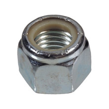 Hex Nut Nylock 1/4inch 20PCS UNC 304 Grade Stainless Steel