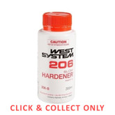 Fiberglass West System 206 Slow Hardener 200ml - CLICK & COLLECT ONLY