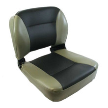 Boat Seat Navigator Folding Grey/Black