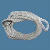 Mooring Rope 16mm x 7m (includes S/S Thimble)