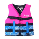 Life Jacket Axis Level 50S 12-14 Pink 25-40kg