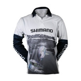 Shimano Coltsniper Kingfish Sublimated Long Sleeve Shirt Large
