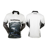 Shimano Ocea Tuna Sublimated Long Sleeve Shirt KIDS Size 5