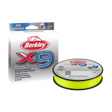 Berkley X9 Braid 80lb x 270m Flame Green