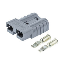 Anderson Plug SB50 Grey with #6 AWG Contacts