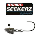 Atomic Seekerz Heavy Jig Heads 1/4oz #2/0 6PCS