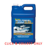 Starbrite Super Premium 2 Stroke Direct Injection Engine Oil TC-W3 3.7L - CLICK & COLLECT ONLY