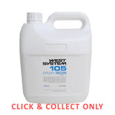 Fiberglass West System 105 Epoxy Resin 4kg - CLICK & COLLECT ONLY