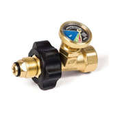 Gas Safety Valve & Gauge
