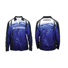 Shimano Underwater Sublimated Long Sleeve Shirt Large