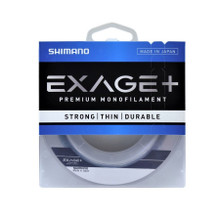Shimano Exage+ 15lb x 300m Clear Line