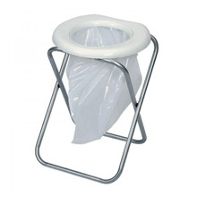 Toilet Portable with Folding Chair