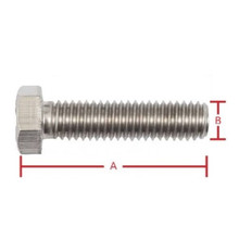 Set Screw 3/8inch x 2 1/2inch 2PCS UNC 304 Grade Stainless Steel