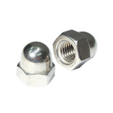 Dome Nut 3/16inch 2PCS 304 Grade Stainless Steel