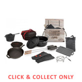 Cast Iron Pioneer Macquarie 11 Piece Set - CLICK & COLLECT ONLY
