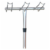 Rod Holder 3 in 1 Stainless Steel Port
