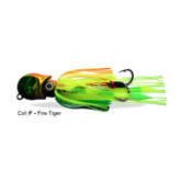 Gillies Ockta Skirt Lure 200g Fire Tiger