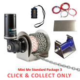 Stress Free Anchor Winch Mini Me Standard Package 3 - CLICK & COLLECT ONLY