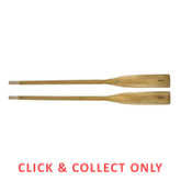 Oars Wooden 6ft - CLICK & COLLECT ONLY